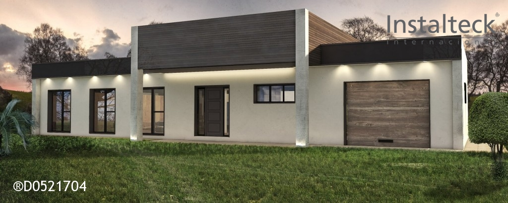 Instalteck modelo de casa modular 205 sevilla precio - Viviendas unifamiliares modernas ...
