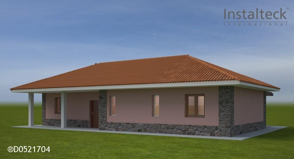 Casa prefabricada in teck 131 instalteckinstalteck - Modelos casa prefabricadas ...