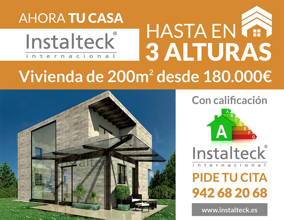 Casas prefabricadas con altura