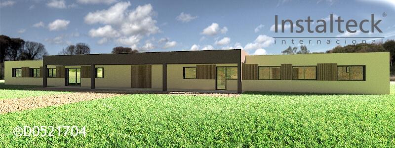 Modelo de casa modular 154 duo. Exterior 1