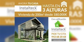 Casas prefabricadas con altura – Ahora tu casa Instalteck hasta en 3 alturas