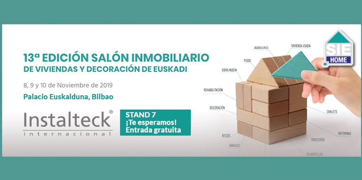 Instalteck estará en el Salón Inmobiliario de Euskadi