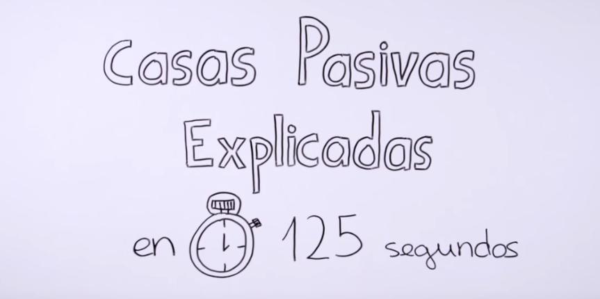 Las casas pasivas explicadas en 125 segundos.