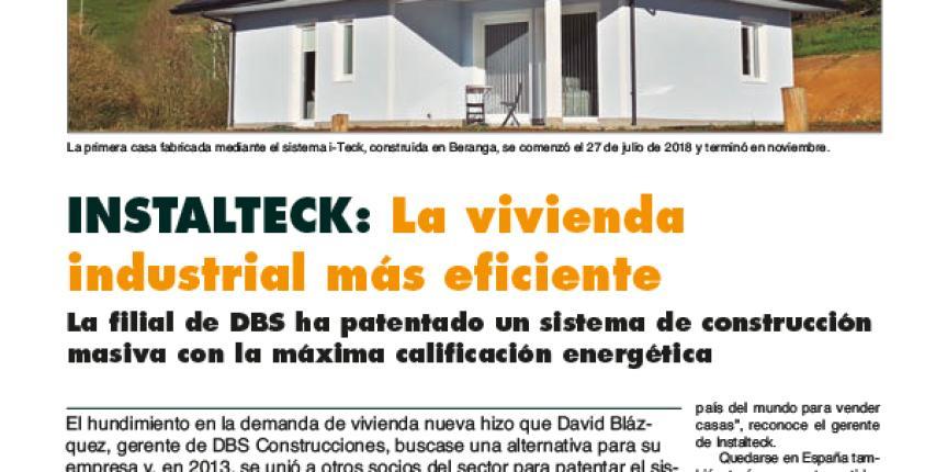 Reportaje Instalteck en Cantabria Económica