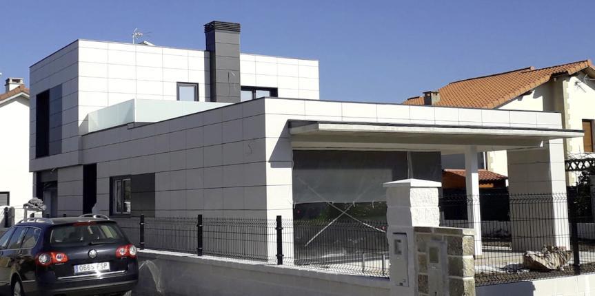 Construcción de casa pasiva en Cantabria